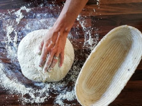 chlebové těsto